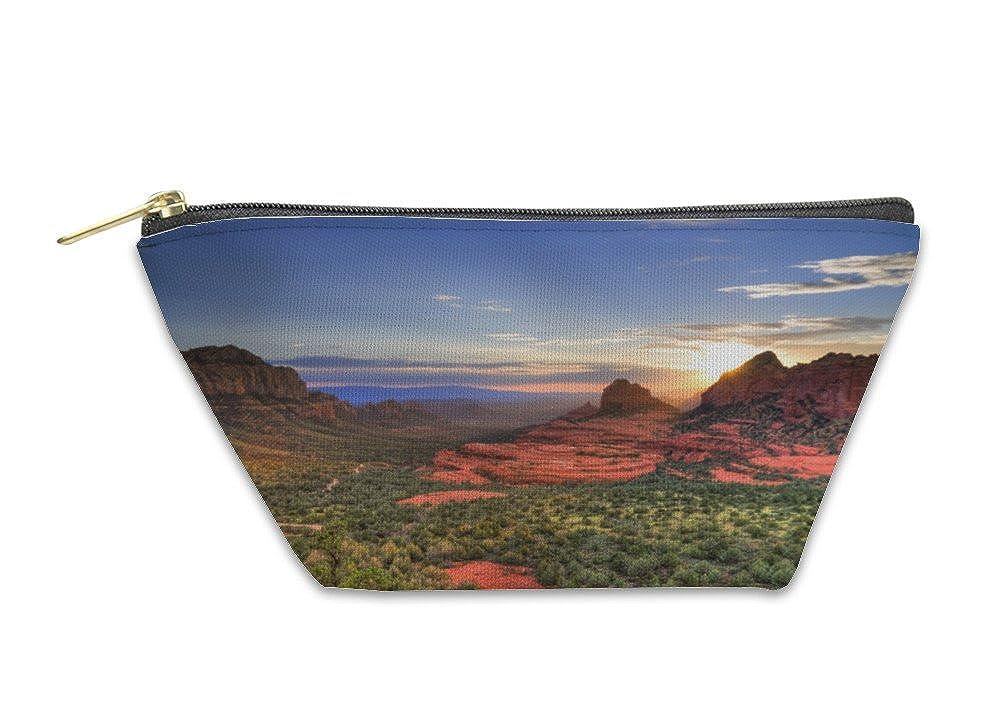 Red Rocks Sunset Gear New Accessory Zipper Pouch 5613109GN