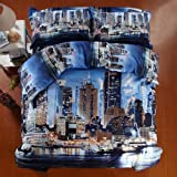 Fashion Capital Duvet Cover Set Blue Modern Bedding Capital Bedding