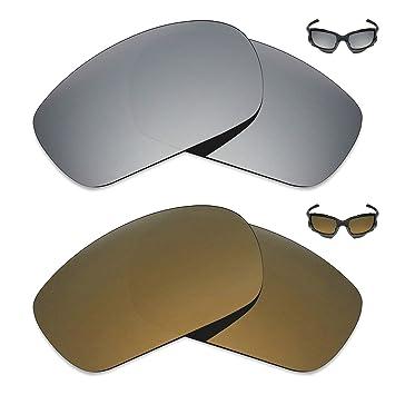 Mryok 2 Pares de Lentes polarizadas de Repuesto para Gafas de Sol ...