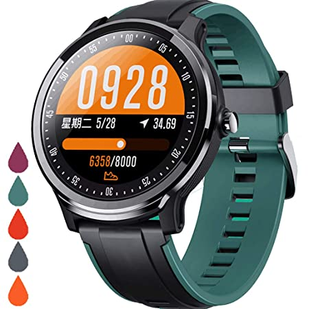 FUN+Smartwatch Smart Watch Fitness Tracker, IP68 Impermeable ...