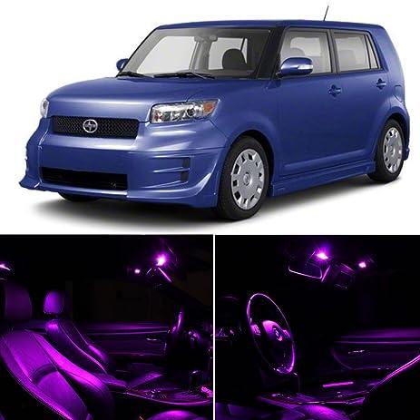 amazon com scion tc 2008 2012 fuschia purple premium led interior