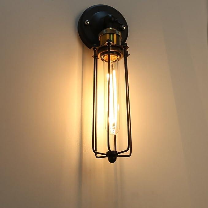 Amazon.com: E27 Socket Titular de la lámpara de pared ...