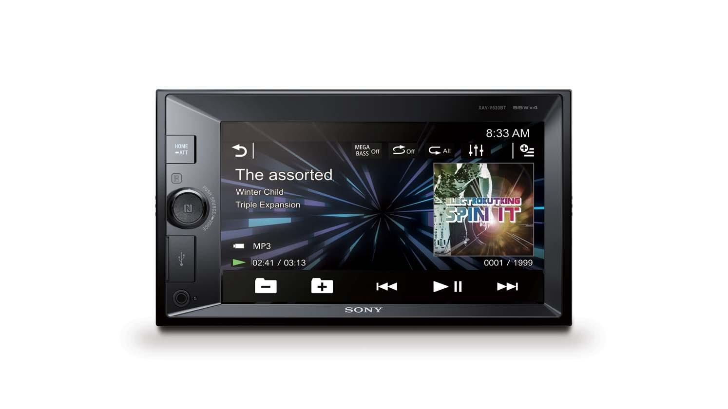 Sony XAV-V630BT Receptor Digital Multimedia Doble DIN NFC Bluetooth: Amazon.es: Electrónica