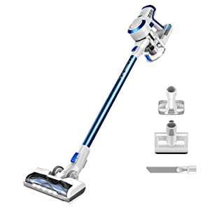 Tineco A10 Hero Cordless Stick Vacuum Cleaner Lightweight 350W Digital Motor Lithium Battery and LED Brush, Handheld Vacuum