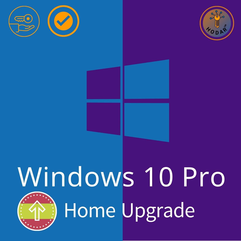 Windows 10 Pro (Professional) 32 / 64 bits Licencia   Windows 10 Home Upgrade   Clave de Activación Original   Español   100% de garantía de activación   Entrega 1h-24h por correo electrónico: Amazon.es: Software