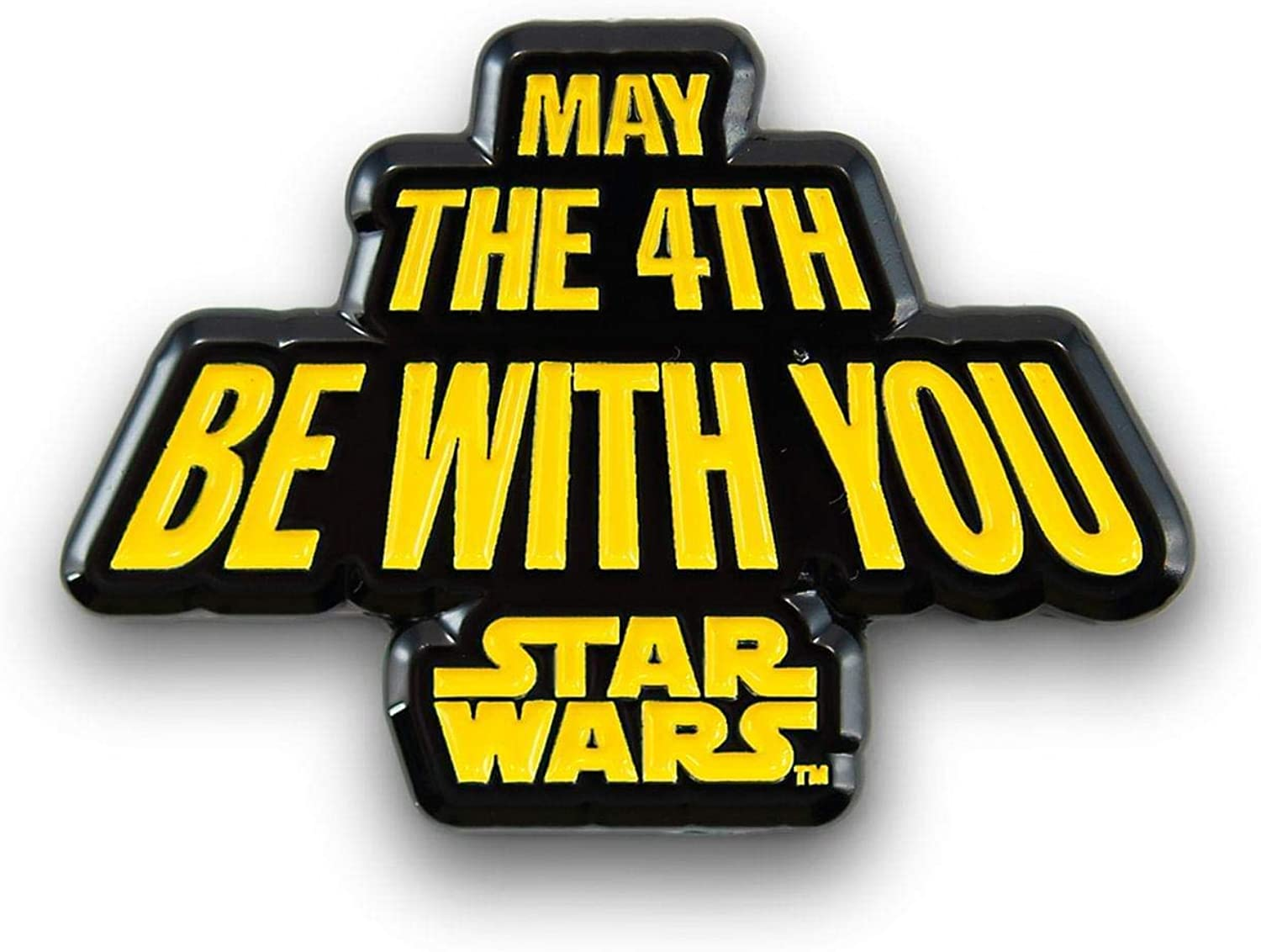 Amazon.com: Star Wars May The Fourth Be With You Pin | Enamel Star Wars  Collector Pin | Fun May 4th Star Wars Accessory: Clothing