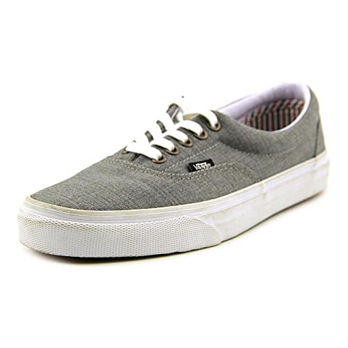 f4b58bf1cd4fc5 Vans - Unisex Era Shoes in (Suiting Stripes) Charcoal True White
