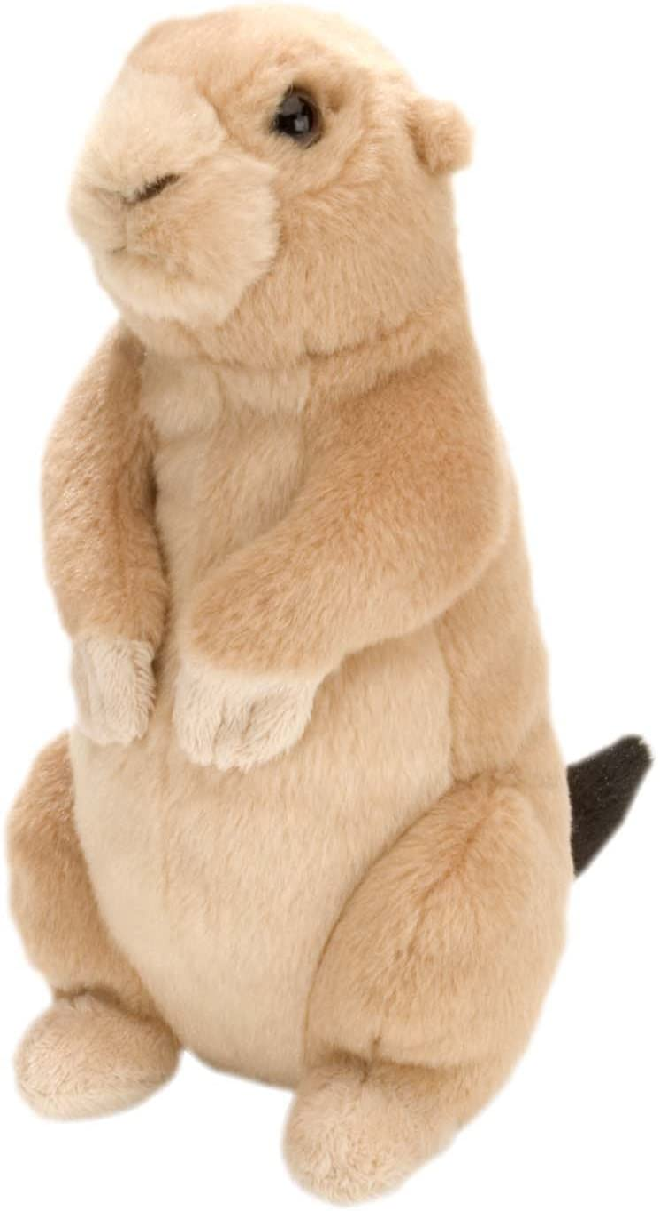 Wild Republic Prairie Dog, Cuddlekins Mini, Stuffed Animal, 8 inches, Gift for Kids, Plush Toy, Fill is Spun Recycled Water Bottles