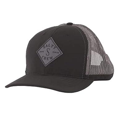 b4b78681f Salty Crew Men's Aruba Custom Retro Trucker Hat, Black/Charcoal ...