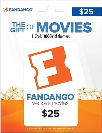 Amazon.com: Tarjeta de regalo Fandango: Tarjetas de regalo
