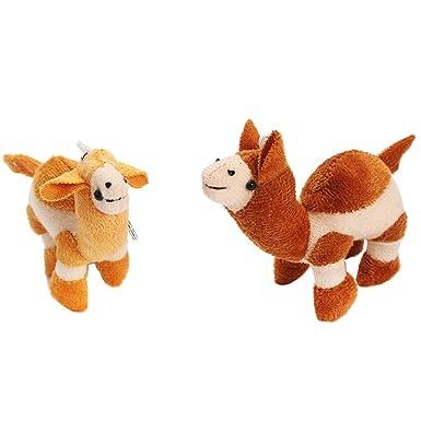 Amazon.com: Binory - Llavero de camello suave, divertido ...
