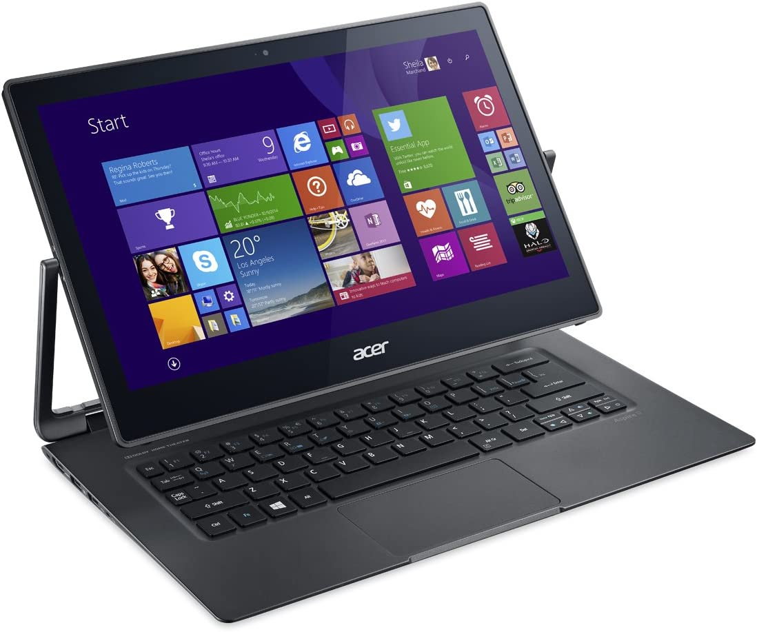 Acer Aspire R 13 R7-371T-78XG 13.3-Inch WQHD Convertible 2 in 1 Touchscreen Laptop