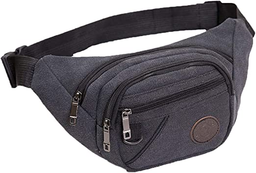 Tactical Waist Fanny Pack Belt Bag Pouch Travel Sport Hip Purse for Mens Womens