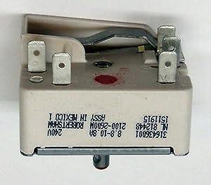 Ranges & Cooking Appliances Parts New Range Stove Element Burner Switch for Frigidaire 316436001 AP3885460 PS1145040