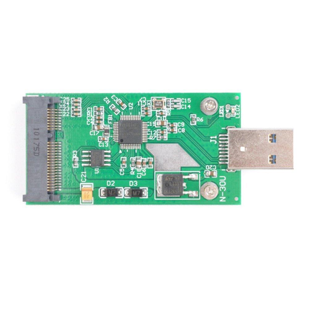 USB 3.0 USB2.0 para Mini PCI-E MSATA SSD externo disco duro PCBA ...