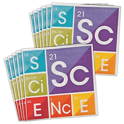 BirthdayExpress Science Party Lunch Napkins (48): Toys & Games