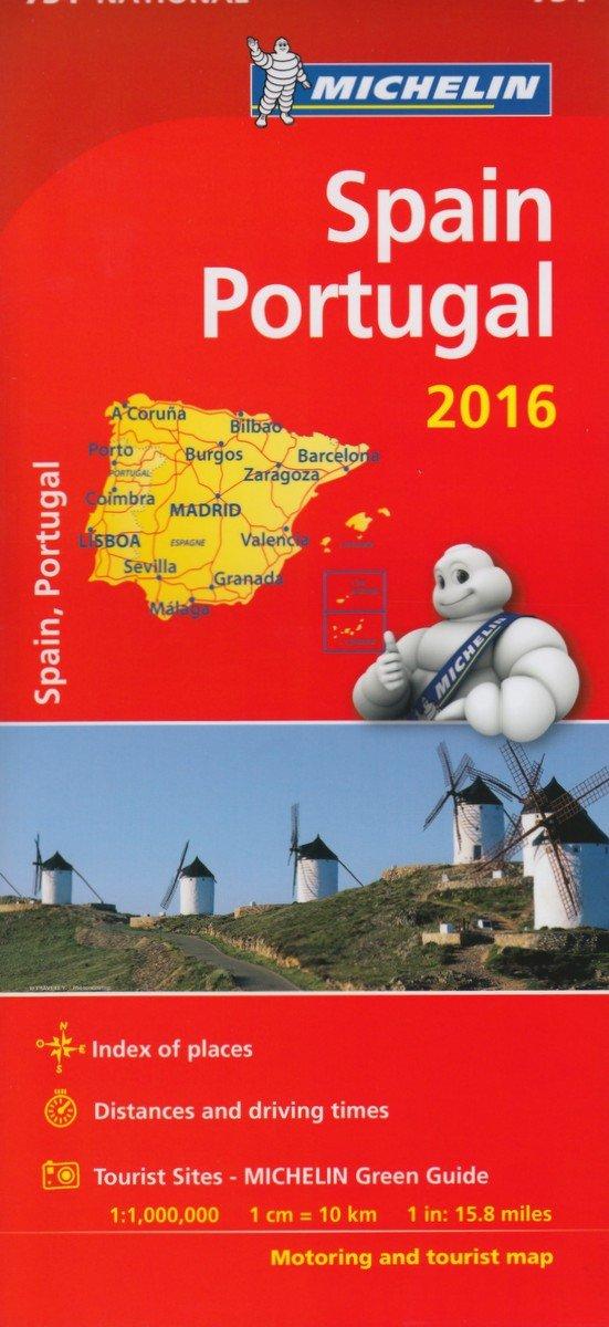 Michelin Maps: Michelin map 734 Spain/Portugal Michelin National Maps: Amazon.es: Michelin: Libros en idiomas extranjeros