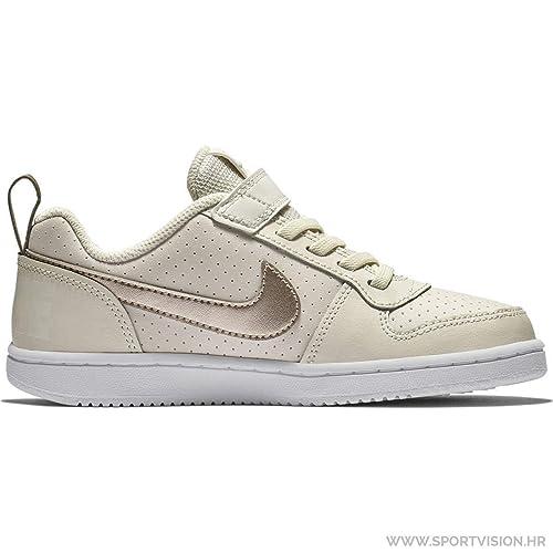 uk availability d922b 9519f Borough Court Nike Low Sneakers Beige Bimba Bambina Psv Scarpe apSOFqxwS