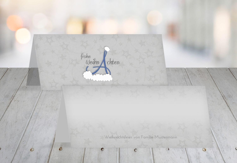 Kartenparadies Tischkarte Weihnachtstisch Tischkarte A_Mütze, hochwertige Platzkarte für die Weihnachtsfeier (Format  100x44 mm) Farbe  WeinRot B01N7RMYF3 | Offizielle  | Verschiedene Waren  | Kaufen