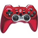 Ps3 Hori Pad 3 Turbo Controller Red USB