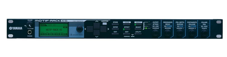 Yamaha MOTIF RACK XS 1U Motif XS Tone Generator