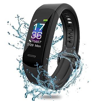 Pulsera de fitness AISIRER reloj de fitness con pulsómetro ...