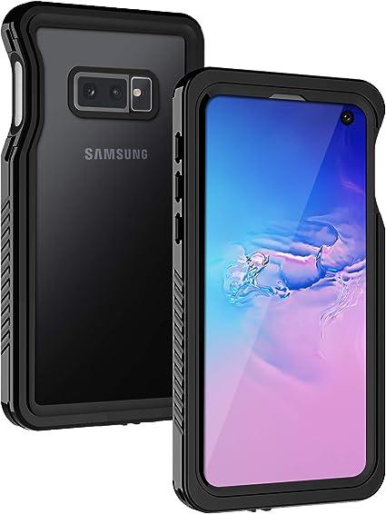 Lanhiem Funda Impermeable Samsung S10e, Carcasa Resistente Al Agua ...