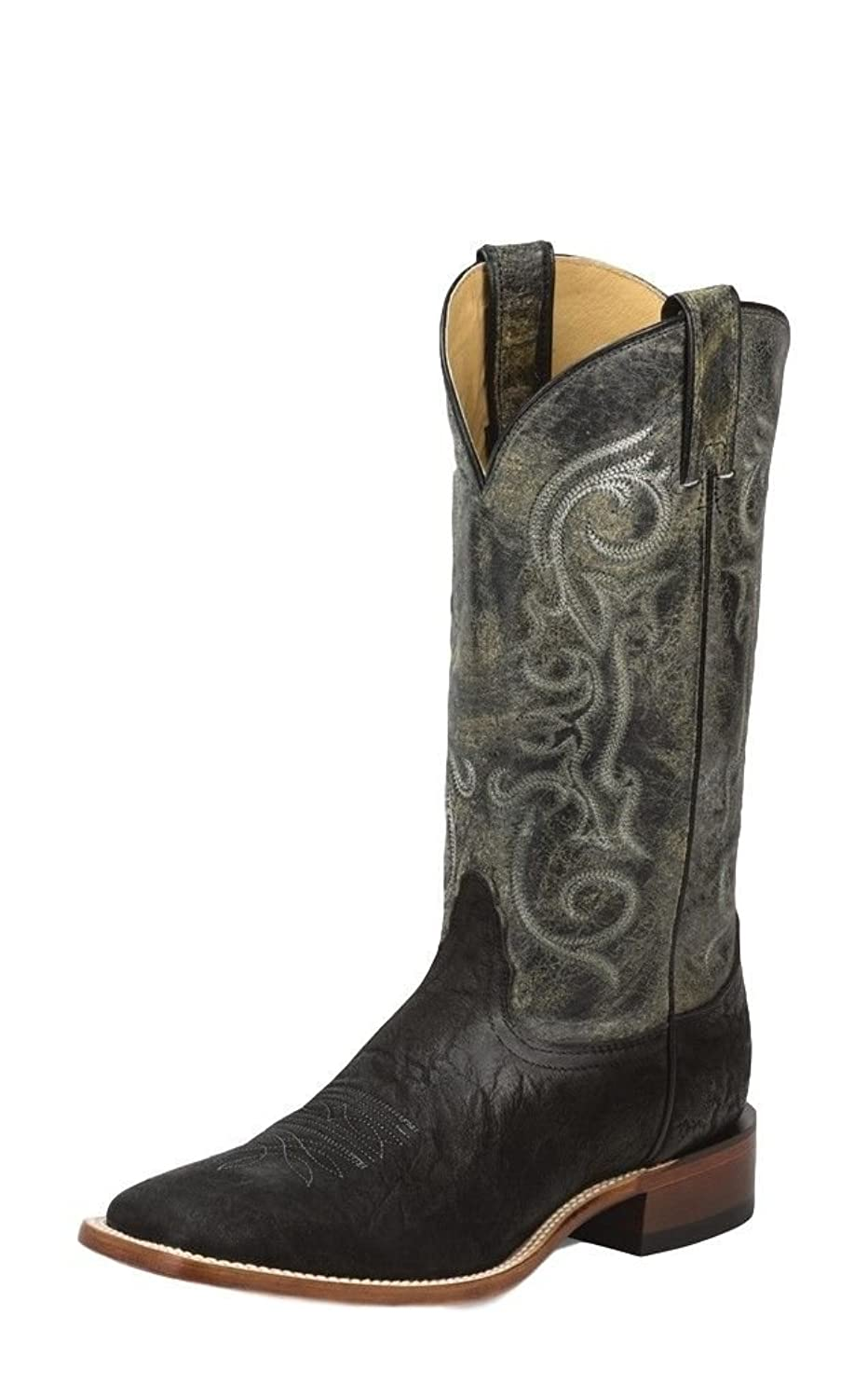 outlet Nocona Men's Elephant Grain Cowboy Boot Square Toe - Nb4050 ...