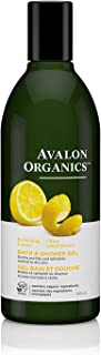 product image for Avalon Organics Bath & Shower Gel, Refreshing Lemon, 12 Oz