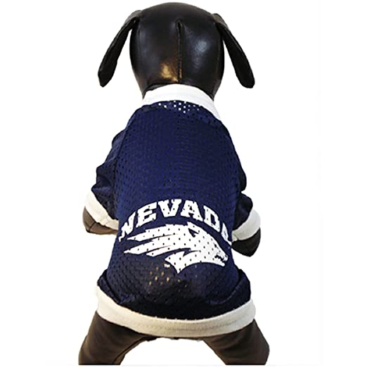 best loved 7ef6a 96509 NCAA Nevada Wolf Pack Athletic Mesh Dog Jersey