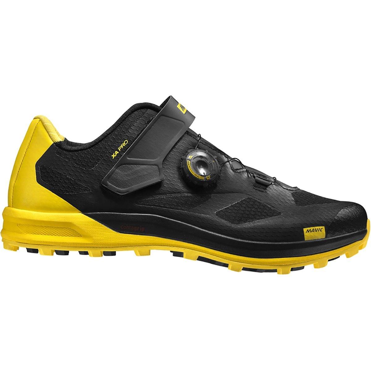 [マヴィック] XA PRO (クロスアドベンチャー プロ) L40031200 B078S176J8 US 13.5/UK 13.0|Black/Black/Yellow Mavic Black/Black/Yellow Mavic US 13.5/UK 13.0