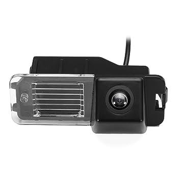 Cámara de seguridad inalámbrica para coche, cámara de visión trasera para Ford VW Focus Sedan C-Max: Amazon.es: Coche y moto
