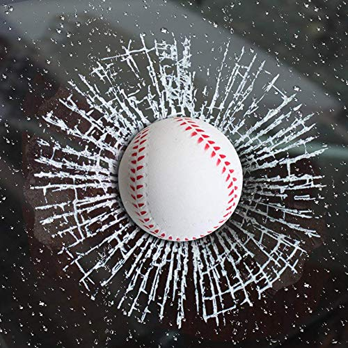 Next2U 3D Baseball Sticker Window Decal for Cars