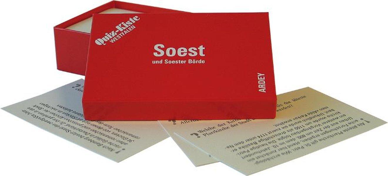 Quiz-Kiste Westfalen - Soest und Soester Börde: 99 Fragen und Antworten