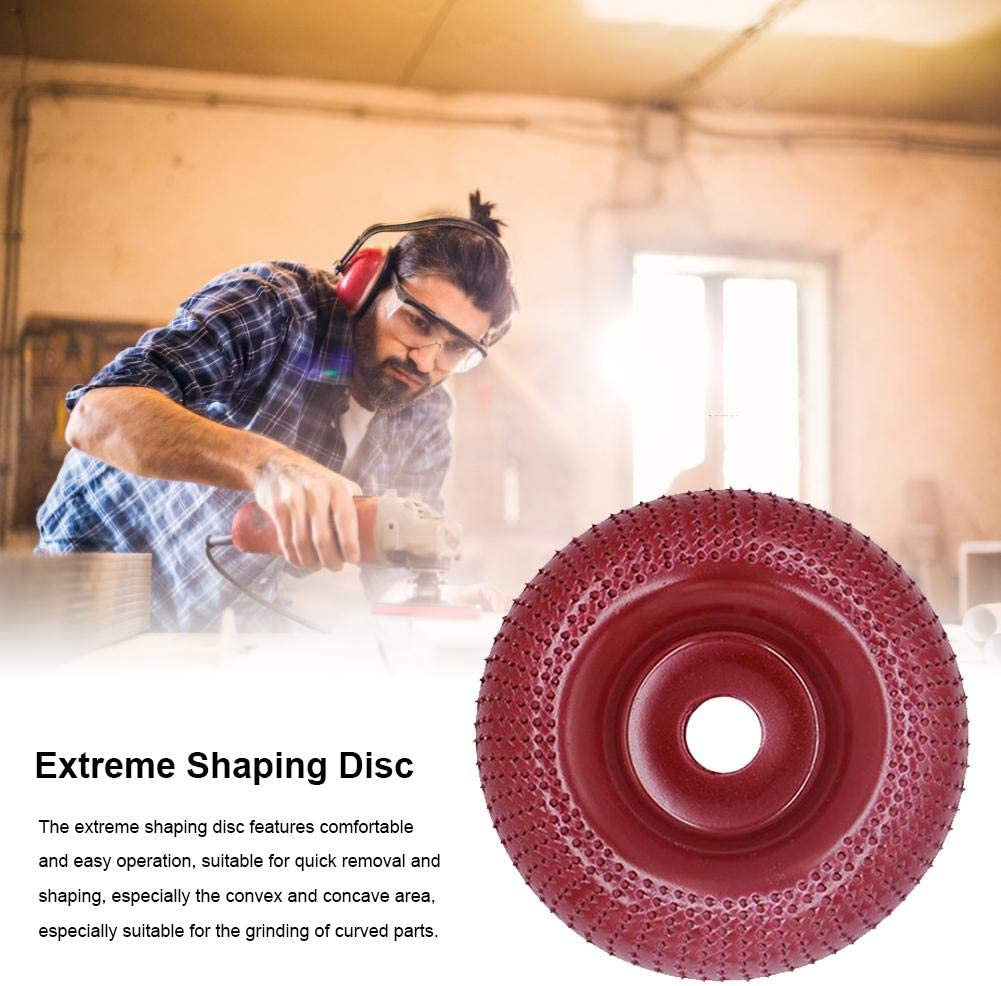 Root Carving Suitable for Wood Wood Carving Plastic Thorn Disc Polishing Angle Grinder Tungsten Carbide Rough Wood Grinding Angle Grinder Polishing Tea Tray and Coffee Table.