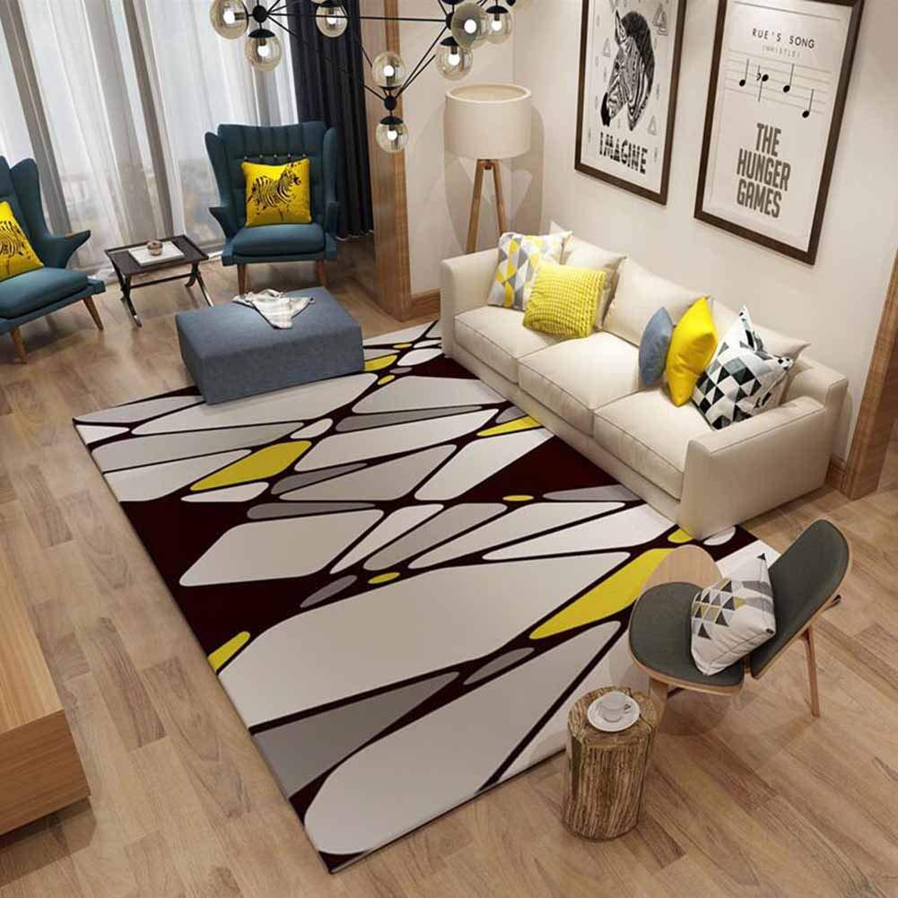 MUMA カーペットフランネルのリビングルームのソファーのコーヒーテーブルの寝室のベッドサイドの家庭北欧シンプルでモダンなダニ工芸品洗える (色 : K-09, サイズ さいず : 180*280cm) B07M64QT2Q 300*400cm|K-06 K-06 300*400cm