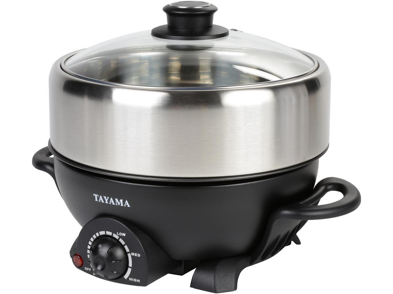 TRMC-40 Shabu and Grill Multi-Cooker, 4 quart, Black by TAYAMA (Image #1)