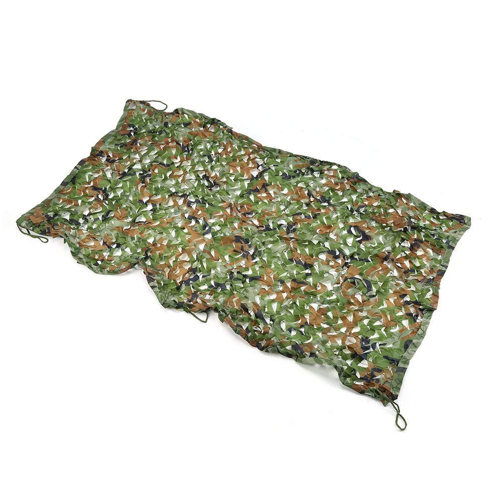 A 46M(13.119.7ft) Prougeection Thermique Filet de Camouflage pour Enfants, Filet de Camouflage forescravater Camping Tente de pêche extérieure Filet d'ombrage