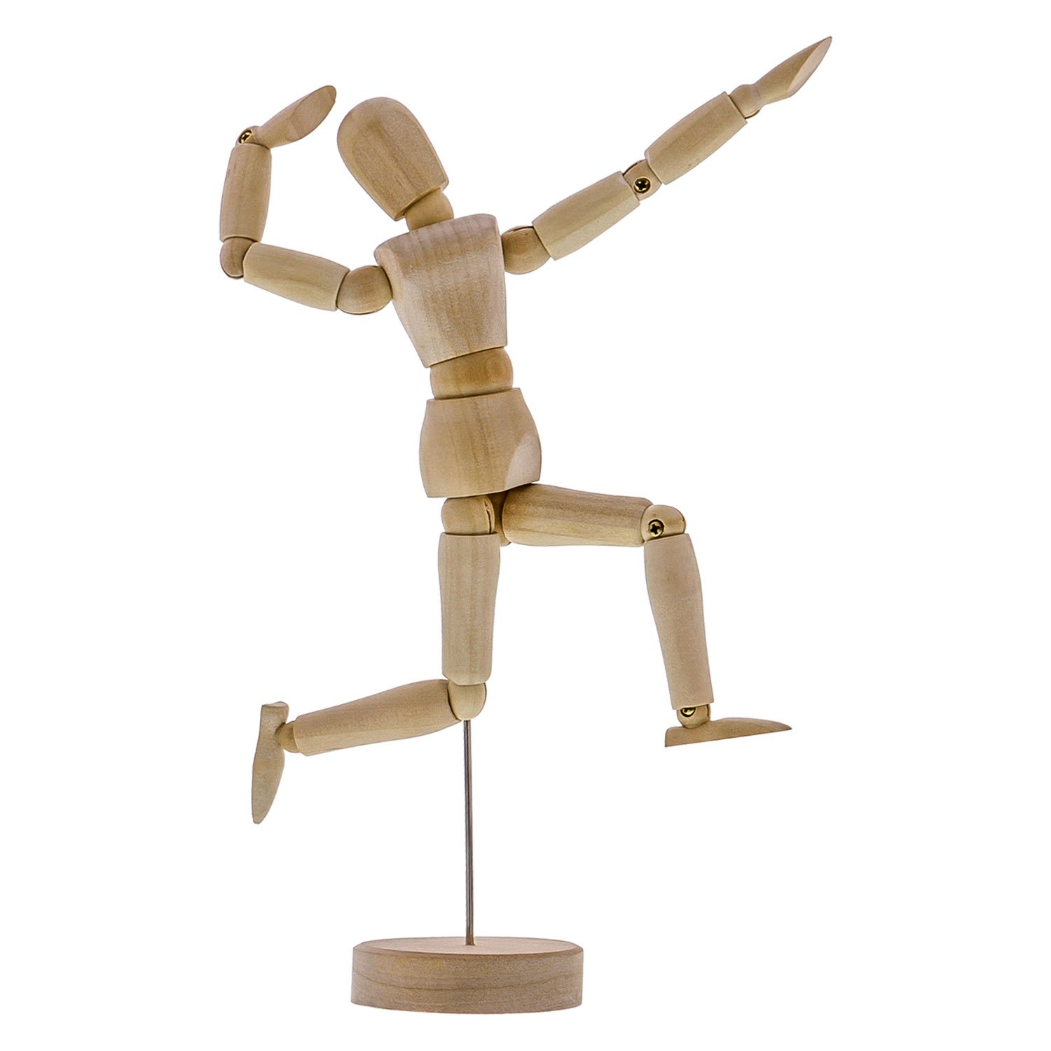 It's just a picture of Adaptable Wooden Drawing Mannequin