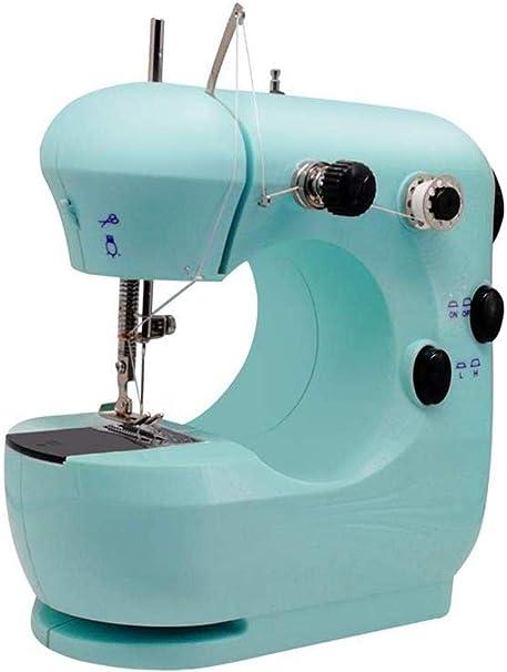 Yuaer Máquina de coser doméstica portátil mini máquina de ...
