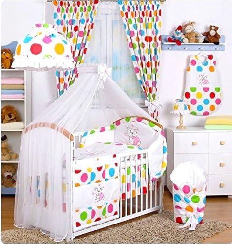 bb-camarade – Set 14 pcs ropa cama de bebé: Tour de cama ...