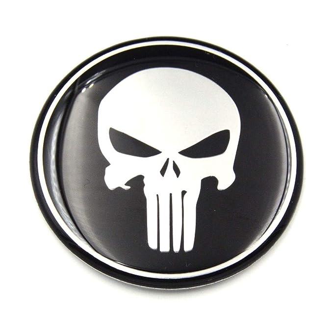Car Sticker 3d 56mm 60mm 65mm 75mm Punisher Car Steering
