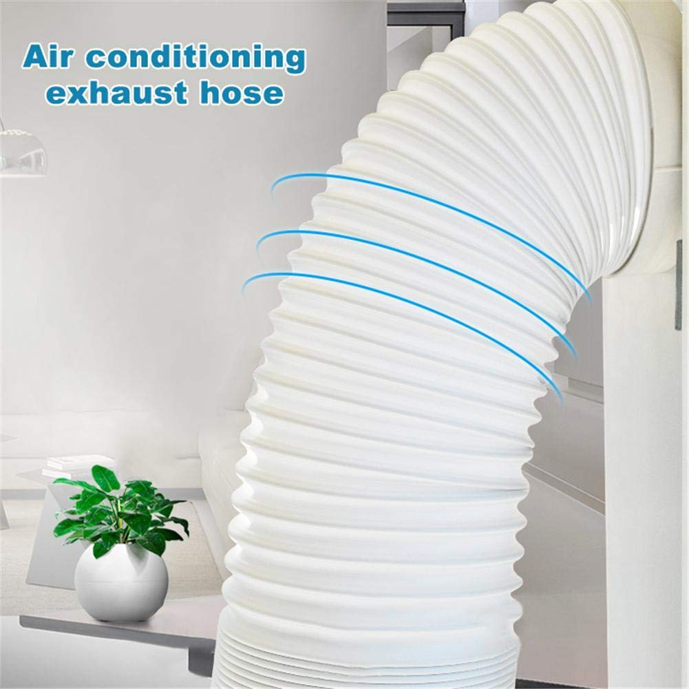 Tubo Adattatore per Tubi Tubo di Scarico per Aria condizionata LeKing Tubo prolunga del condizionatore dAria condizionatore dAria Portatile Tubo di sfiato del Condotto di sfiato Kit di prolunga