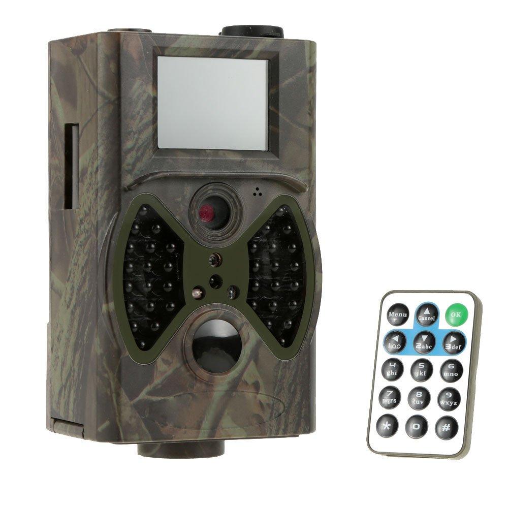 Lixada Trail digital por infrarrojos Cámara de caza de exploración de Vigilancia de la cámara 940NM HC300A IR LED: Amazon.es: Deportes y aire libre