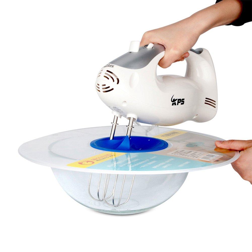 Splash Cover, TwoS Anti Splash Cover for Egg Basin Egg Splashguard Splash Proof Baking Tool