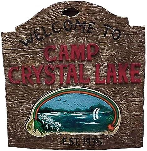 Cartel Crystal Lake Sign Viernes 13: Amazon.es: Juguetes y juegos