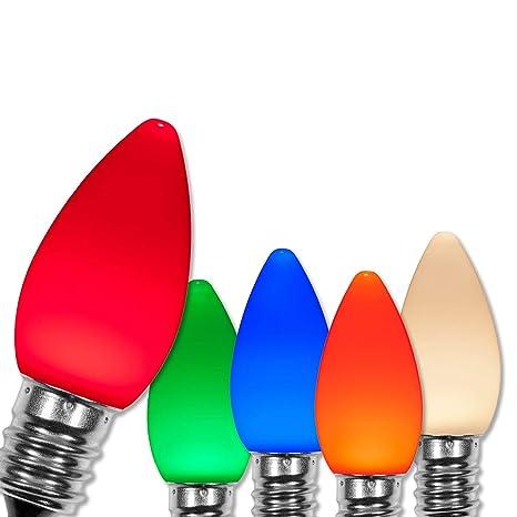 wintergreen lighting opticore c7 led christmas light bulbs replacement led christmas lights heavy duty premium