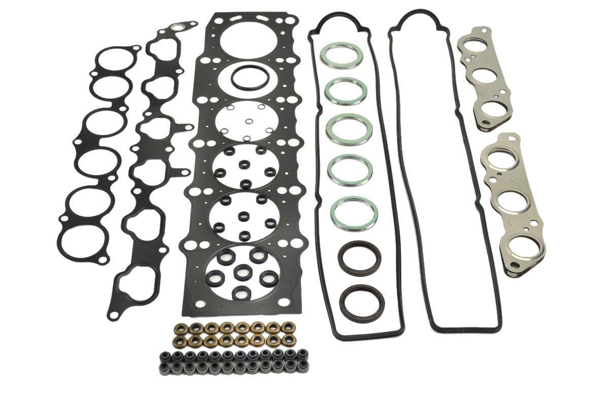 ITM Engine Components 09-11625 Cylinder Head Gasket Set for 1992-1998 Lexus//Toyota 3.0L L6 2JZGE SC300 Supra GS300