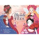 Un monde de fées : Coffret contenant : 1 livre de contes, 1 planisphère géant, 6 fées à habiller