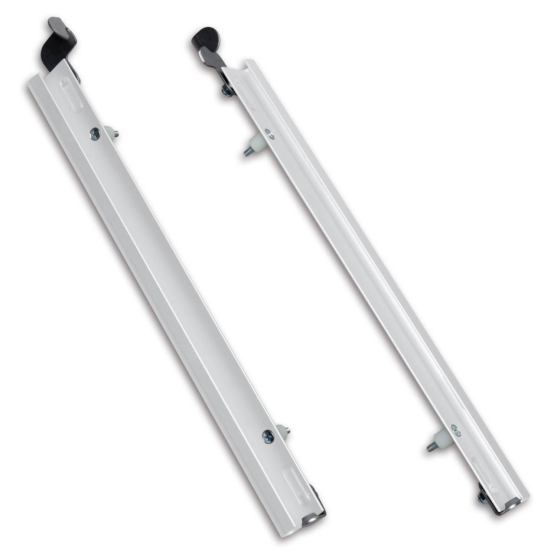 PlexiDor Performance Pet Doors Sliding Track with Flip Lock, X-Large, White